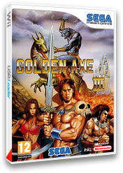 Golden Axe III pochette VC-MD (MBOP)