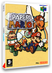 Paper Mario pochette VC-N64 (NAEP)