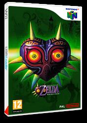 The Legend of Zelda:Majora's Mask pochette VC-N64 (NARP)