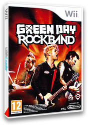 Green Day:Rock Band pochette Wii (R36P69)