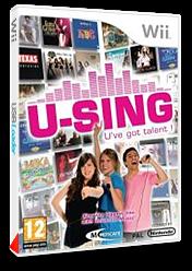 U-Sing pochette Wii (R58SMR)