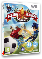 Academy of Champions:Football pochette Wii (R5FP41)