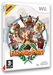 Farmyard Party: Featuring the Olympigs pochette Wii (R5OXUG)