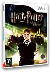 Harry Potter et l'Ordre du Phénix pochette Wii (R5PP69)
