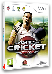 Ashes Cricket 2009 pochette Wii (R6KP36)