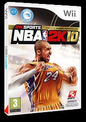NBA 2K10 pochette Wii (R76P54)