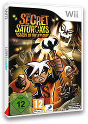 The Secret Saturdays: Beasts of the 5th Sun pochette Wii (R85PG9)