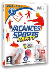 Vacances Sports Party pochette Wii (R8SP41)