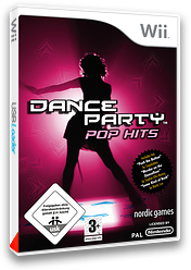 Dance Party Pop Hits pochette Wii (R9RPNG)