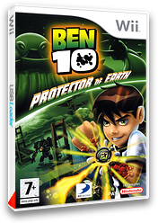 Ben 10:Protector of Earth pochette Wii (RBNPG9)