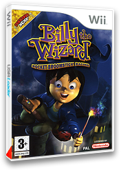 Billy the Wizard: Rocket Broomstick Racing pochette Wii (RBZXUG)