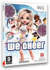 We Cheer pochette Wii (RCHPGT)
