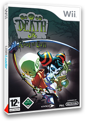 Death Jr. : Root of Evil pochette Wii (RDJP4F)