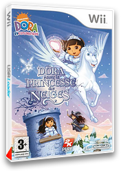 Dora sauve la Princesse des Neiges pochette Wii (RDPP54)