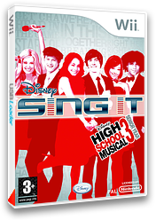 Disney Sing It: High School Musical 3 pochette Wii (REYX4Q)