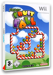 Super Fruit Fall pochette Wii (RF4P6M)