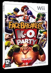 FaceBreaker:K.O. Party pochette Wii (RFQP69)