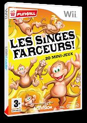 Les Singes Farceurs! 20 Mini-Jeux pochette Wii (RFVP52)