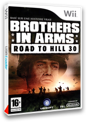 Brothers in Arms:Road to Hill 30 pochette Wii (RI8P41)