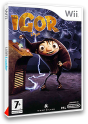 Igor : Le Jeu pochette Wii (RIBPKM)