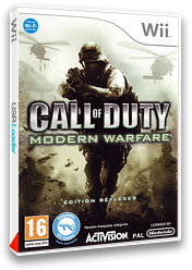 Call of Duty : Modern Warfare - Edition Réflexes pochette Wii (RJAP52)