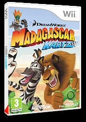 Madagascar Kartz pochette Wii (RJHP52)