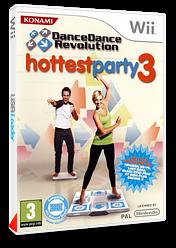 Dance Dance Revolution: Hottest Party 3 pochette Wii (RJRPA4)