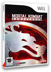 Mortal Kombat:Armageddon pochette Wii (RKMP5D)