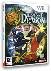 La Legende du Dragon pochette Wii (RLDPFK)