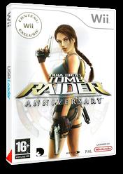 Tomb Raider : Anniversary pochette Wii (RLRP4F)