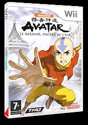 Avatar:Le Dernier Maître de l'Air pochette Wii (RLVP78)