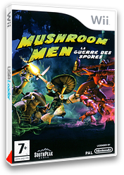 Mushroom Men : La Guerre des Spores pochette Wii (RM9PGM)