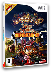 Myth Makers : Super Kart GP pochette Wii (RMYPUG)