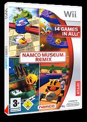 Namco Museum Remix pochette Wii (RN2P70)