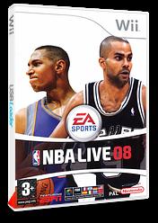 NBA Live 08 pochette Wii (RNBX69)