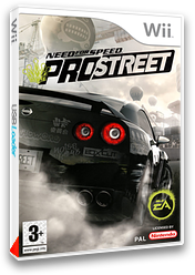 Need for Speed:ProStreet pochette Wii (RNPX69)