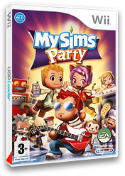 MySims Party pochette Wii (RP4P69)