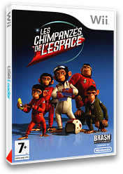 Les Chimpanzés de l'Espace pochette Wii (RP9PRS)