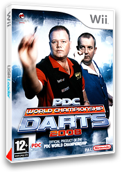 PDC World Championship Darts 2008 pochette Wii (RPDPGN)