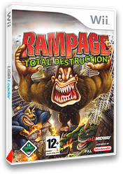 Rampage : Total Destruction pochette Wii (RPGP5D)