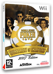 World Series of Poker : Tournament of Champions 2007 Edition pochette Wii (RPKP52)