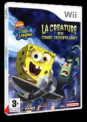 Bob l'éponge:La Créature du Crabe Croustillant pochette Wii (RQ4P78)
