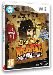 Mad Dog McCree Gunslinger Pack pochette Wii (RQ5X5G)