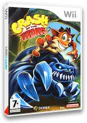 Crash of the Titans pochette Wii (RQJP7D)