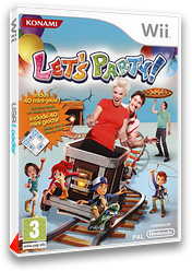 Let's Party! pochette Wii (RR3PA4)