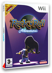 Rock 'N' Roll Adventures pochette Wii (RRAXUG)