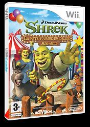 Shrek:La Fête Foraine en Délire pochette Wii (RRQP52)