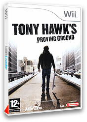 Tony Hawk's Proving Ground pochette Wii (RT9P52)
