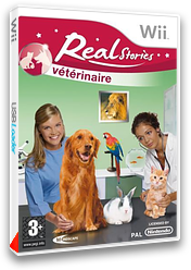Real Stories : Vétérinaire pochette Wii (RTEHMR)