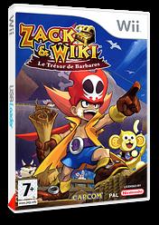 Zack & Wiki:Le Trésor de Barbaros pochette Wii (RTZP08)